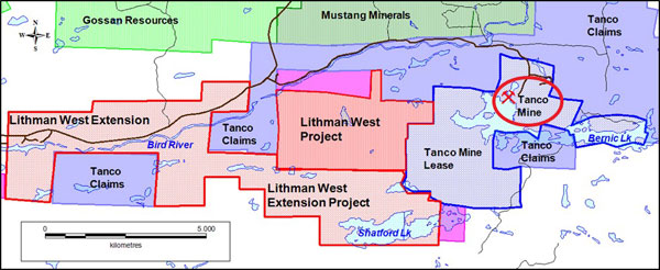 Figure 1 Lithman West Extension
